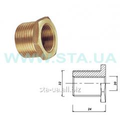 Brass futorka N-in 32/20mm GOST 8960-75
