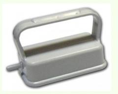 Three-roller vacuum magnetic nozzle
