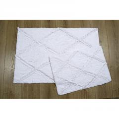 Набор ковриков Irya - Nadia beyaz белый