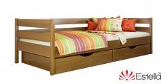 Кровать Эстелла Нота из массива бука 103 светлый