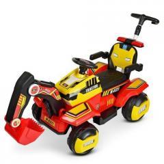 Трактор детский Электромобиль 4321BLR с подвижным