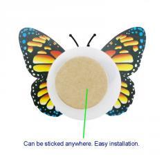 Ночник бабочка цветные световые наклейки на стену