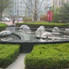 Комплект Насос и насадка для фонтана Форсунки д\