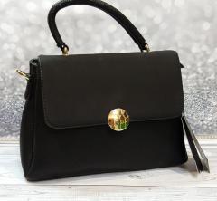 Стильная черная женская сумка