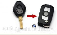 Корпус выкидного ключа BMW с лезвием HU58