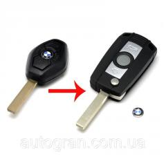 Корпус выкидного ключа BMW с лезвием HU92