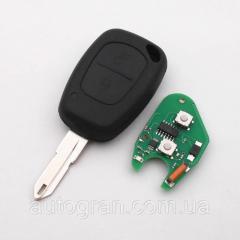 Ключ с платой Opel 2 кнопки 433Mhz, чип ID46