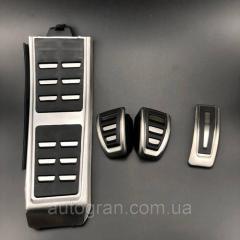 Накладки на педали Audi A4 B8, A6 C7, Q5, Q3, A5,
