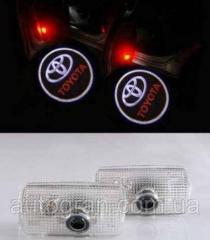 Подсветка-проэктор двери Toyota Prius Camry