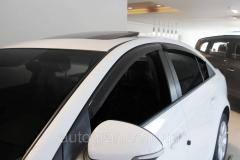 Дефлекторы окон ветровики Chevrolet Cruze sedan