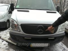 Зимняя накладка заглушка защита радиатора Mercedes