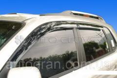 Дефлекторы окон ветровики Hyundai Tucson 2004-2010