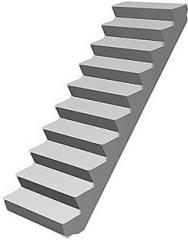 HP-10-1P / Ladder steps / 1000 x 330 x 145
