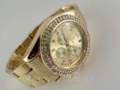 Женские часы ROLEX - металлический браслет, цвет