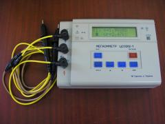 Megohm meters TsS0202-1, TsS0202-2