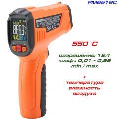 PM6519C пирометр, до 500 °С + температура и