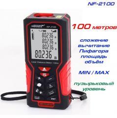 Noyafa NF-2100 лазерная рулетка до 100 метров