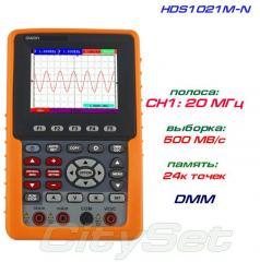 HDS1021M-N портативный осциллограф OWON, полоса: 1