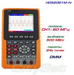 HDS2061M-N портативный осциллограф OWON, полоса: 1