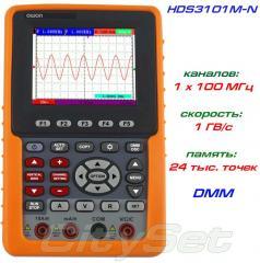 HDS3101M-N портативный осциллограф OWON, полоса: 1