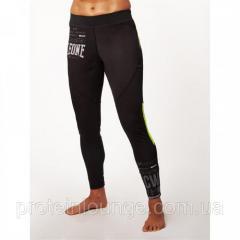 Штаны компрессионные женские Leone Black S черный