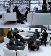 Street furniture, furniture for any weather