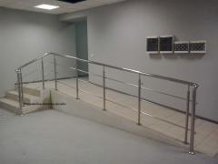 Handrail and hand-rail from the Italian stainless