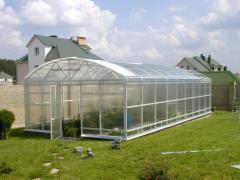 Greenhouses, construction of greenhouses Kiev,