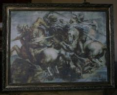 Semi-antique picture. Production. Kiev