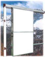 Двери откатные среднетемпературные