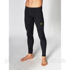 Штаны компрессионные для мужчин Leone Black/Gold M