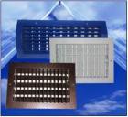 Решетка алюминиевая двухрядная регулируемая с