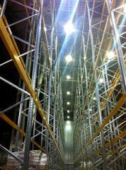 Illumination of warehouse