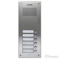 Аудіопанель на 6 абонентів Commax DR-6UM