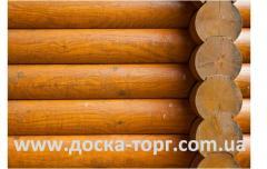 Бревна оцилиндрованные сосна 160-240 мм.
