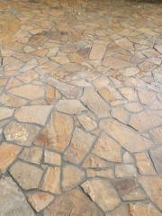 Укладка натурального и искусственного камня  стены