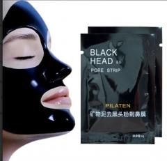 Разовая маска для лица. Черных точек Black Mask от