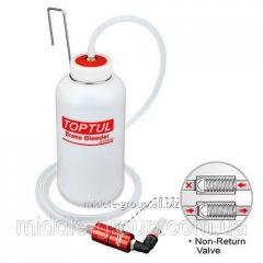 Бачок для замены тормозной жидкости 800мл TOPTUL