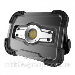 Фонарь-прожектор аккумуляторный 10W с POWERBANK