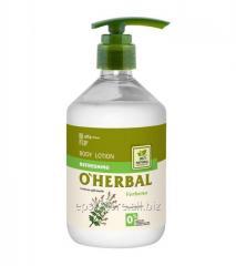 Освежающий лосьон для тела O Herbal с...