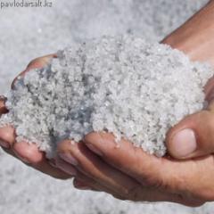 Salt technical with sand
