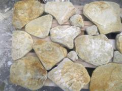 Paving slabs sandstone