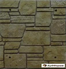 Формы фасадной плитки, полифасада