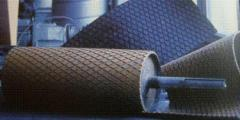 Футеровка резиной приводных барабанов конвейера