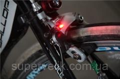 Вело габарит задний с автоматическим стоп-сигналом