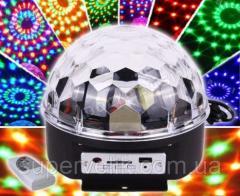 Светодиодный диско-шар LED Magic Ball MP3,