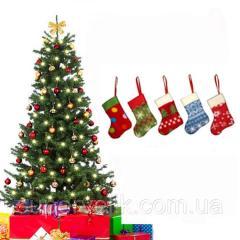 Украшение на новогодний стол сапожок и рукавичка!