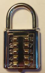Кодовый навесной замок, Кнопка 10