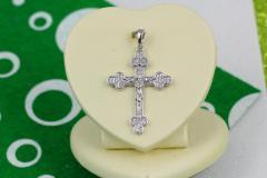 Крестик Xuping Jewelry классический с мелкими