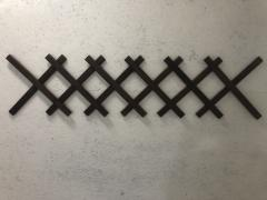 Заборчик Grandmassiv Мак деревянный декоративный